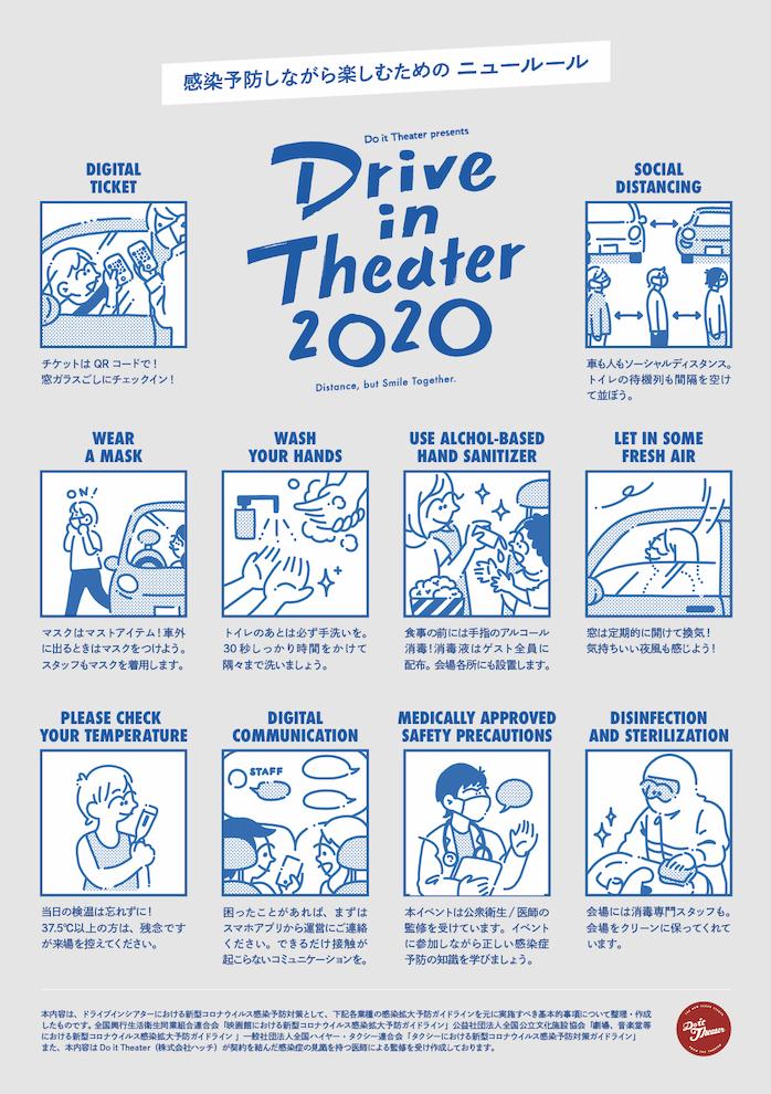 シアター ドライブ 2020 イン
